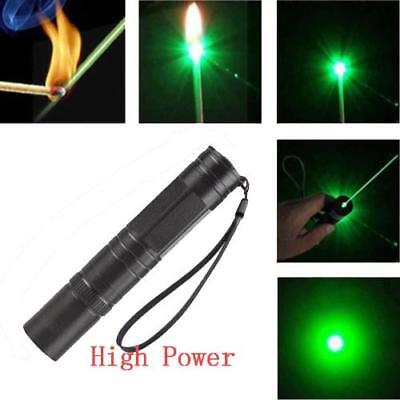 Powerful 5mw 532nm Military Visible Light Beam Green Laser Pointer Pen