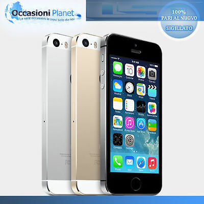 Apple Iphone 5S 64Gb - Gold Grey Silver - Nuovo Grado A+ °°Sigillato°° - Italia