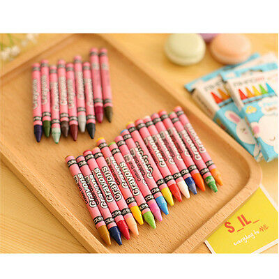 Non-Toxic Student Painting Crayons Assorted Arts Crafts Drawing Tool
