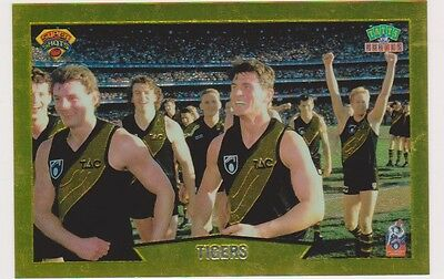RICHMOND TIGERS 1997 tatts pokie card