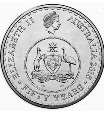 2016 Australian 20 Cent Coin - Fifty Years Of Decimal Currency