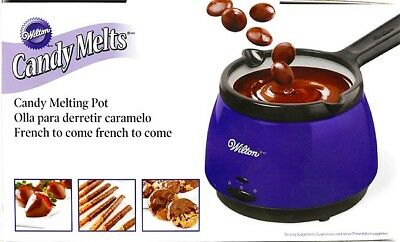 Wilton Deluxe Candy Chocolate Melt Melting Pot Removable