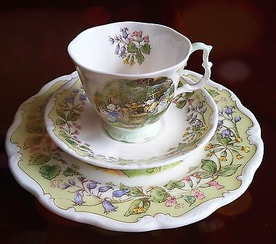 """Brambly Hedge Royal Doulton, """"The Meeting"""" , 3-teilig, TOP Zustand !"""
