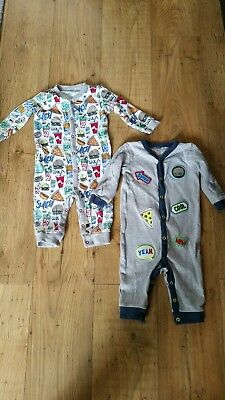 Next sleepsuits 9-12 months