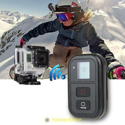 Wireless Wifi Remote Control+Charging Cable+Wrist Band for GoPro Hero3+4 Camera