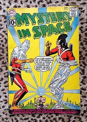 DC COMICS Mystery In Space # 71 (1961) – Adam Strange Thriller