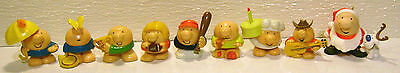 Lot of 9 ZIGGY PVC FIGURES ¤ Ornament ¤ Cake Toppers ¤ All Different!!