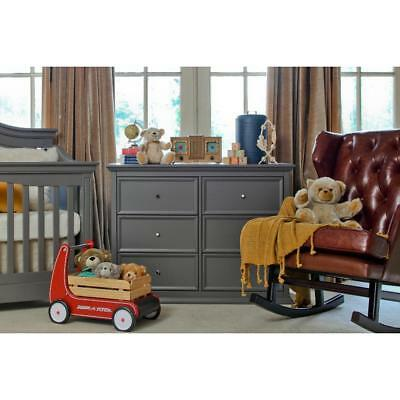 Million Dollar Baby Classic Foothill-Louis 6 Drawer Dresser - Manor Grey