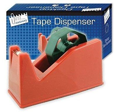 Desktop Office Heavy Duty Heavy Weight Sellotape Tape Dispenser Holder New