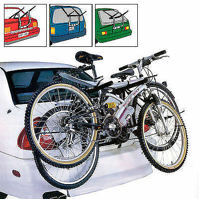 2 Bike Cycle Universal Carrier Bike Foldable Rack Car Saloon Hatchback Strap