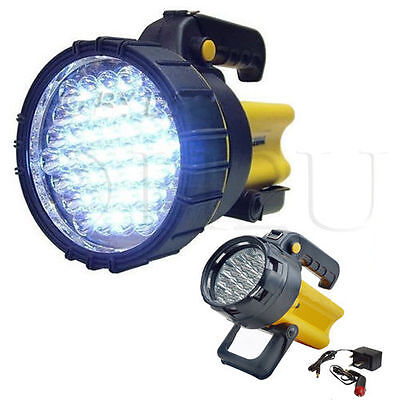19/37 Led Rechargeable Lantern Work Light Torch Candle Power Spotlight Bright