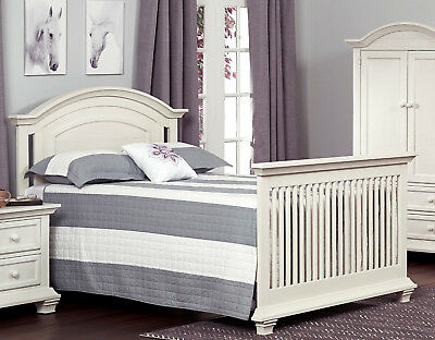 Oxford Baby Cottage Cove Full Size Bed Conversion Kit - Vintage White