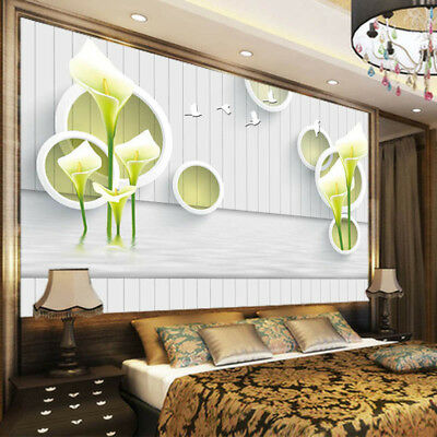 High-minded Lily 3D Full Wall Mural Photo Wallpaper Printing Home Kids Decor