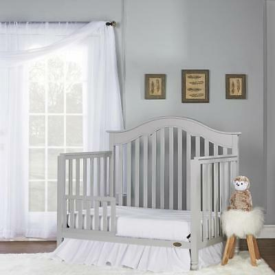 Dream On Me Universal Toddler Guard Rail - Sliver Grey Pearl