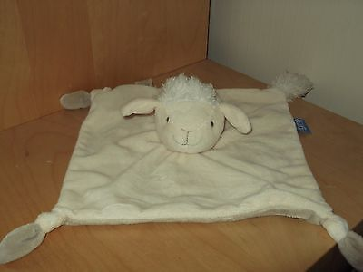 The Gro Company Lamb  Blankie   Comforter Soft Toy