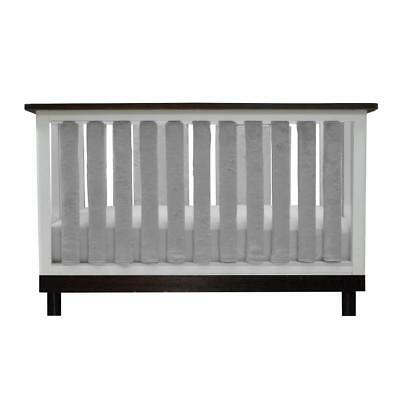 Go Mama Go Grey Minky 24 Pack Puresafety Vertical Crib Liner