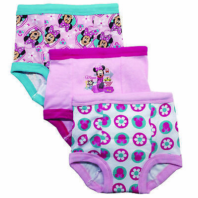 Minnie Mouse 3 Pack Assorted Pattern Underwear - Toddler