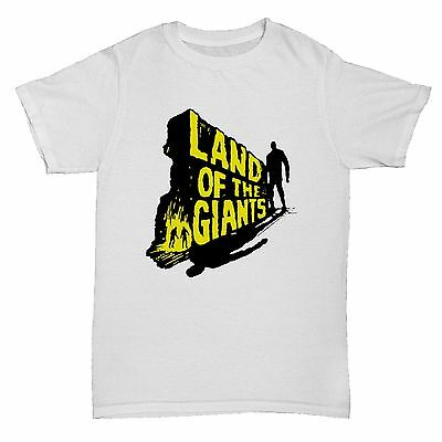 Land Of The Giants Sci Fi Geek Retro Vintage Film Movie Classic T Shirt