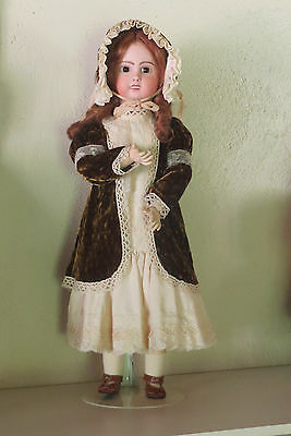 """Antique doll Repro: French Baby    """"Jum...""""  1907 mold 70 CM  28 inch"""