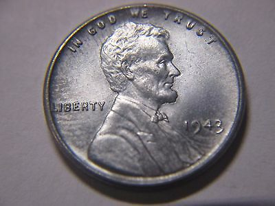 Choice  Uncirculated 1943 Lincoln Cent