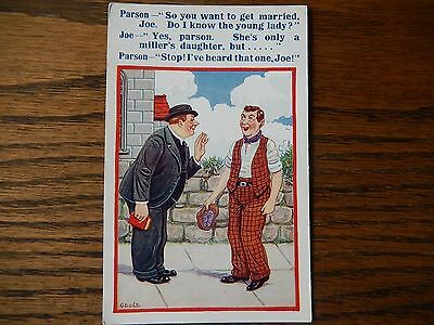 Gould, Vintage Seaside Humour Postcard, #3851  in Good Condition 1930s