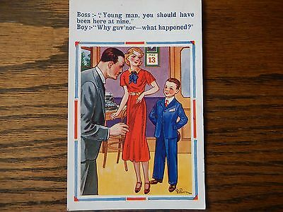 Saucy Vintage Seaside Humour Postcard, #3731  in Good Condition 1930s