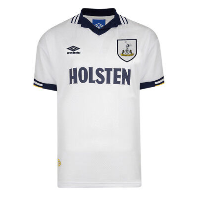 Official Retro Tottenham Hotspur 1994 Umbro Retro Football Shirt 100% POLYESTER