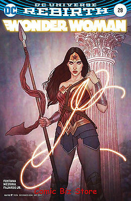 Wonder Woman #28 (2017) 1St Printing Variant Cover Dc Universe Rebirth
