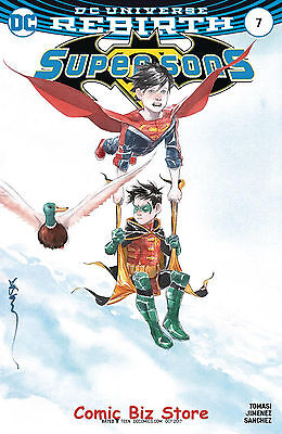 Super Sons #7 (2017) 1St Printing Variant Cover Dc Universe Rebirth