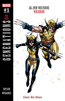 Generations Wolverine & All New Wolverine #1 1St Printing Coipel Variant Cover