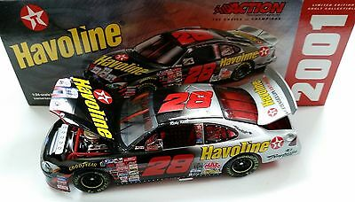 Ricky Rudd 2001 Bud Shootout Texaco Havoline 1/24 Action Diecast Car 1/7,824