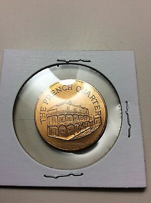 Franklin Mint 1969 Sunoco Landmarks of America Broze Coin/token French Quarter