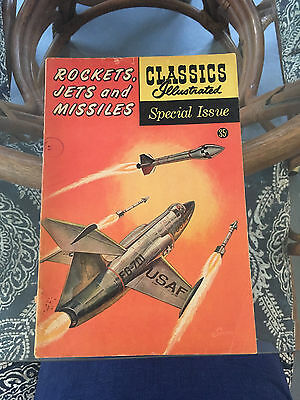 Classics Illustrated Special Issue Rockets, Jets and Missiles