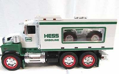 2008 Hess Toy Truck and Front Loader! Sounds and Lights! Mint Condition