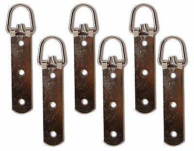 Heavy Duty 3 hole Hook D Ring Hook Strap Picture Frame Photo Hanging Hanger 90mm
