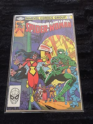 Marvel Comic Book Spider Woman #45 Vol 1 Spider-Man Very Fine Plus
