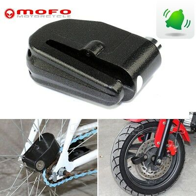 Motorcycle Bike Scooter Anti-theft Brake Disc Wheel Alarm Security Lock Loud New
