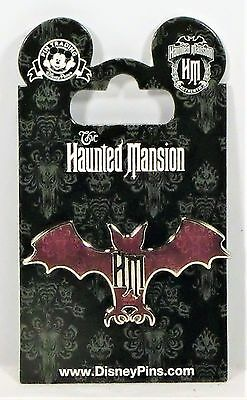 Disney The Haunted Mansion Wallpaper Silhouetted Gargoyle Bat Pin BRAND NEW