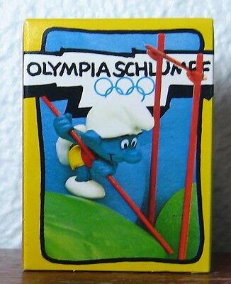 Smurfs -  New In Box - Pole Vaulter Smurf!