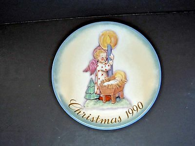 1990 Schmid Christmas Plate/inspired By Berta Hummel/ Excellent Condition