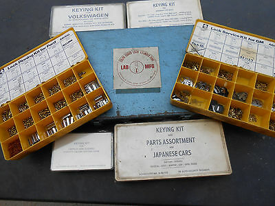 7 BOXES Automotive car : FORD,GM,TOYOTA...  Pin Kit