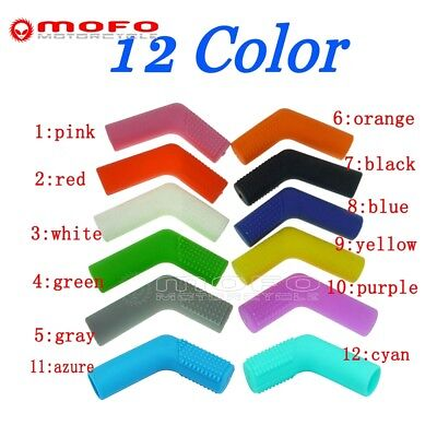 Rubber Shifter Sock Boot Shoe Protector Shift Cover Motorcycle Dirt bike 12Color