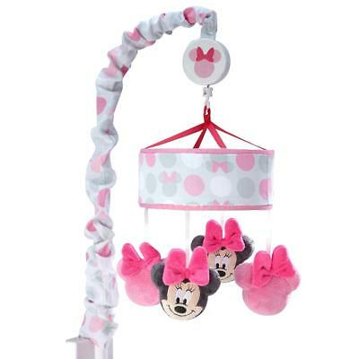 Disney Minnie Mouse Polka Dots Musical Mobile