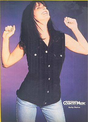 Kathy Mattea, Country Music Star in 1994 Magazine Print Photo Clipping