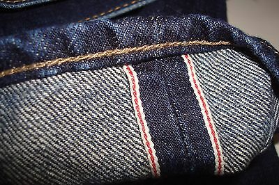 "J.Crew 484 fit Straight Selvedge Indigo denim Tagged 30"" W   32 ""L"
