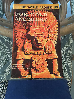 Classics Illustrated The World Around Us For Gold and Glory