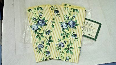 Longaberger Set of 2 Unused ROSE TRELLIS Napkins