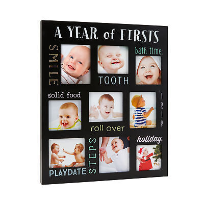 Pearhead Year of Firsts Chalkboard Photo Frame