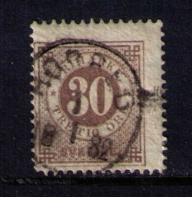 Sweden Stamp 30Ore SC# 35 Used