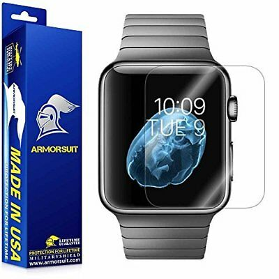 Apple Watch 42mm Series 1 Ultra HD Full Coverage Screen Protector Clear 2-Pack